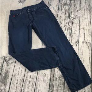 💎 Men's Ralph Lauren Dark Blue Pants 34X32